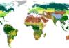 carte des différents climats