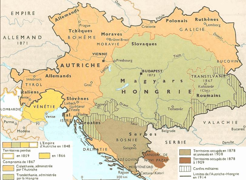 empire_austro-hongrois_1914_territoires_frontières_limites_pays