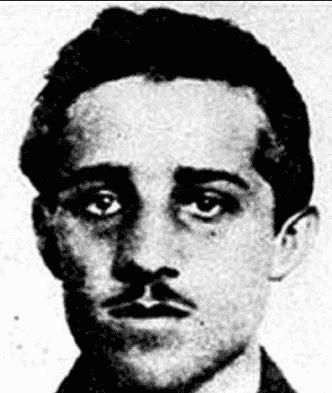 Gavrilo Princip assassin de l'archiduc François-Ferdinand d'Autriche