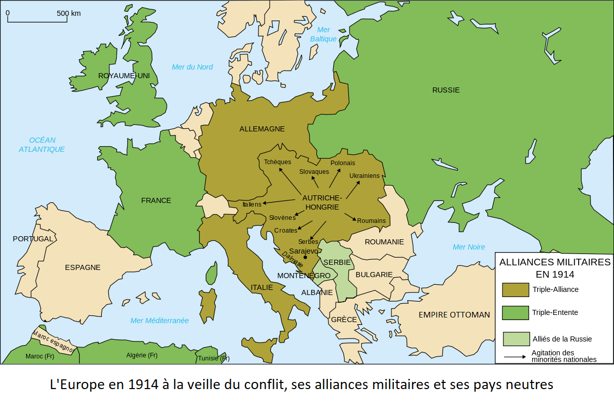 triplice_triple_entente_1914_guerre_mondiale_1918_alliances_europe