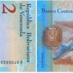 2 bolivars vénézuéliens