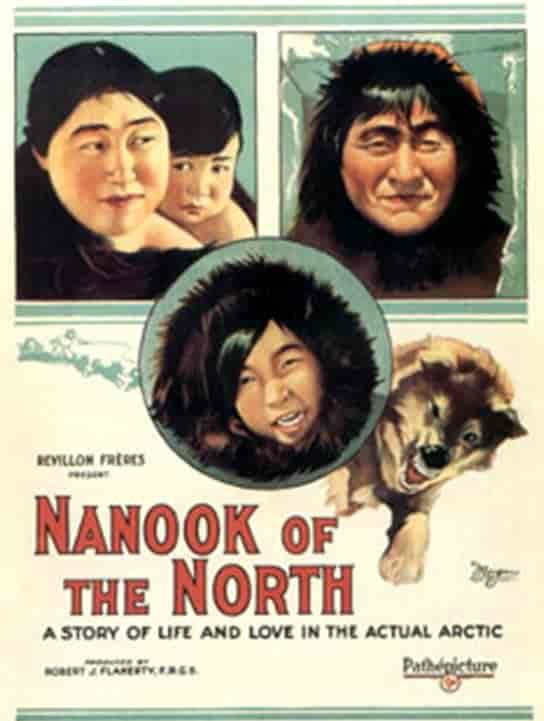 Nanouk l'esquimau 1922 film Flaherty