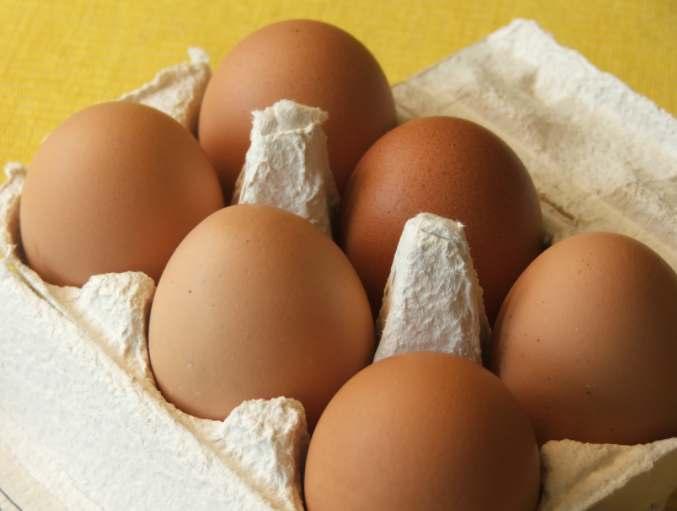 le numéro sur les œufs