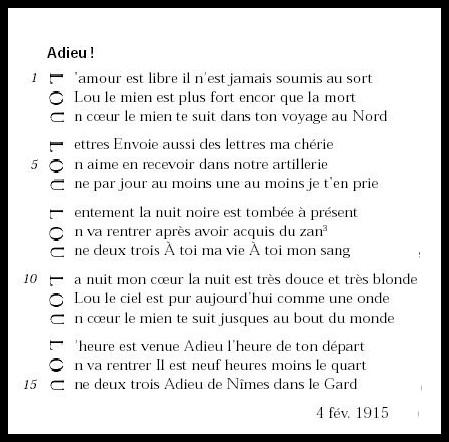 Apollinaire_Lou_Acrostiche_Poème_Adieu