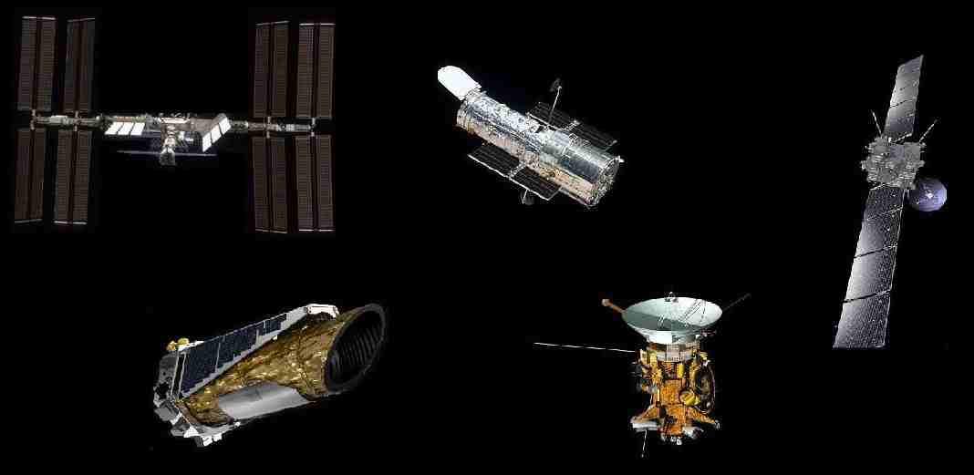 Kepler_Hubble_ISS_Rosetta_Cassini