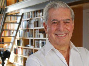 L'écrivain péruvien Mario Vargas Llosa, Prix Nobel de Littérature en 2010.