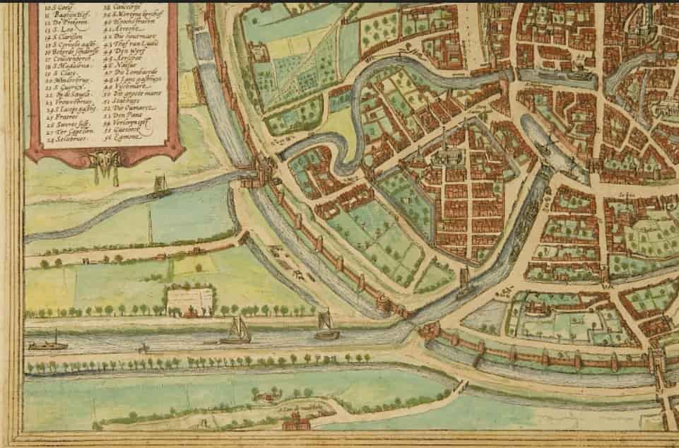 Plan construction canal Willebroek