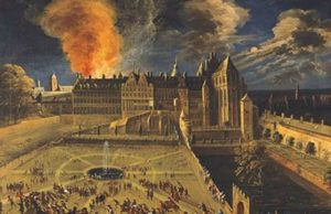 Incendie du Coudenberg 1731