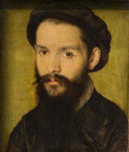 Clément Marot portraité par Corneille de Lyon en 1536.