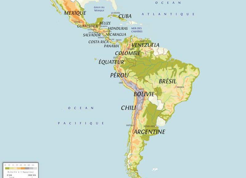 carte_amérique_latine_pays