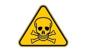 Un des symboles / avertissements du poison.