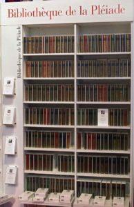 Tous les livres de la Bibliothèque de la Pléiade et les couleurs de leur couverture en cuir