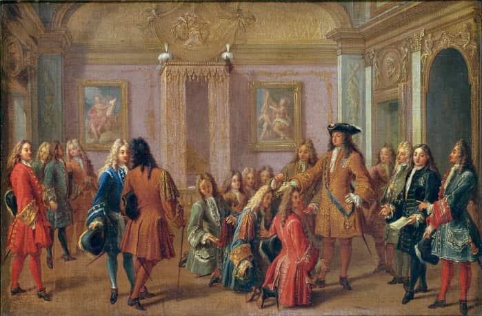 Cour de Louis XIV et ordre de Saint-Louis.