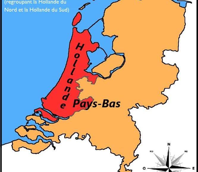 carte_hollande_pays-bas_différence_régions
