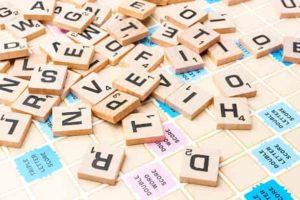 Les anagrammes au scrabble