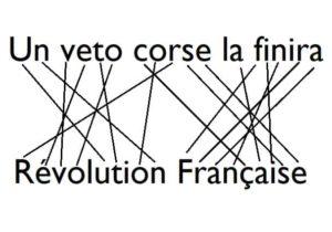 """Révolution Française a pour anagramme la phrase """"un veto corse la finira""""."""