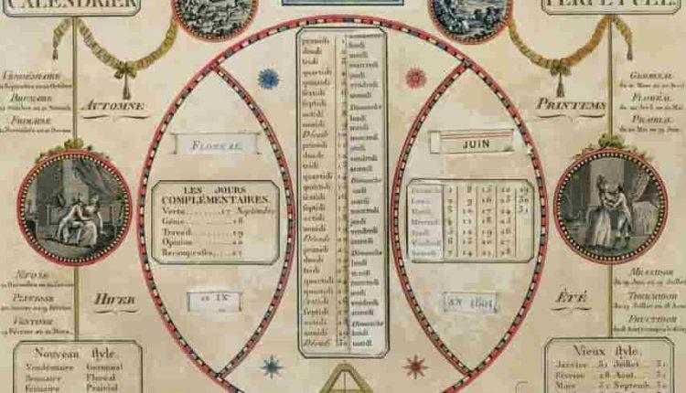 calendrier_républicain_révolutionnaire_français_mois_semaines_jours