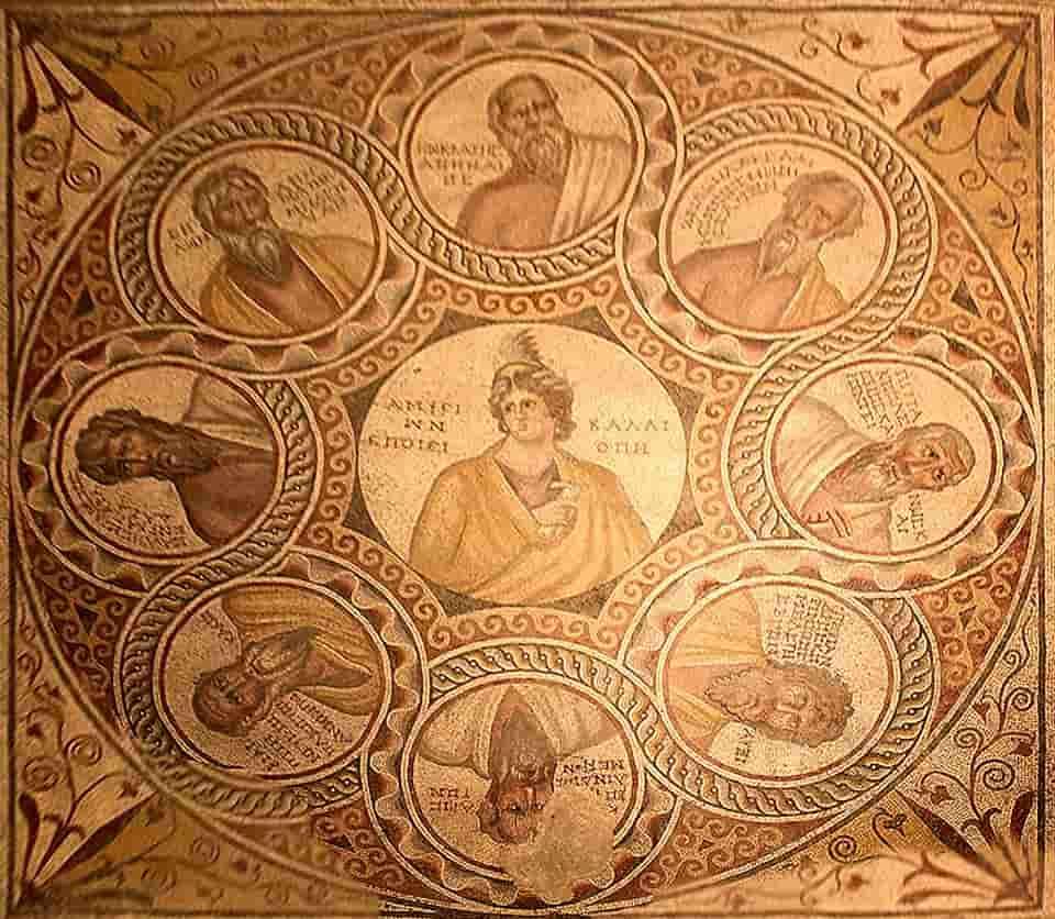 Les 7 sages de Grèce dans l'antiquité