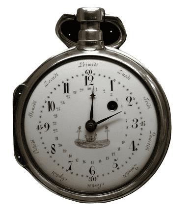 montre_gousset_calendrier_républicain_révolutionnaire