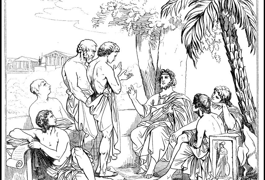 Platon_et_Académie_philosophe_grec