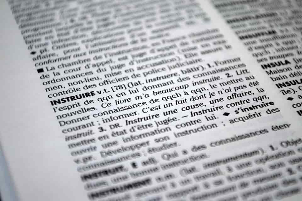 Quelle est la définition du mot instruire ?