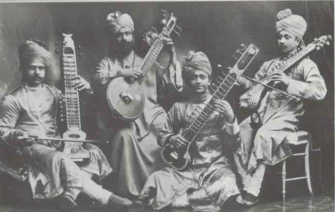 Orchestre de musique hindoue