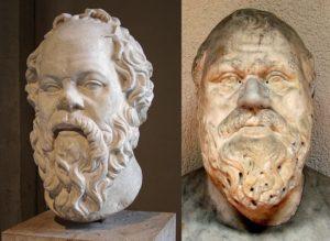 Socrate philosophe grec connais-toi toi-même