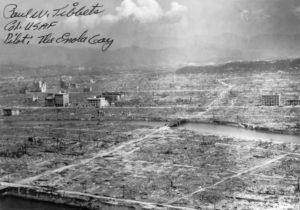 Hiroshima après la bombe atomique