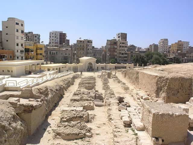 Ruines de la Bibliothèque d'Alexandrie