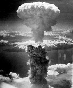 Le champignon atomique de Nagasaki