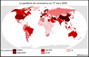 Expansion du coronavirus COVID-19