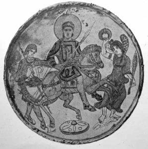 Empereur romain Constantin converti au christianisme
