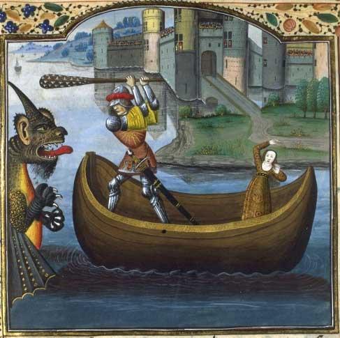 Hercule qui tue le monstre marin de Troie