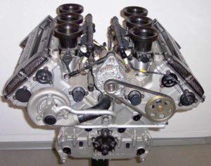 Un moteur à combustion interne