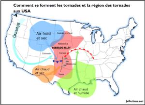 Comment se forment les tornades ?