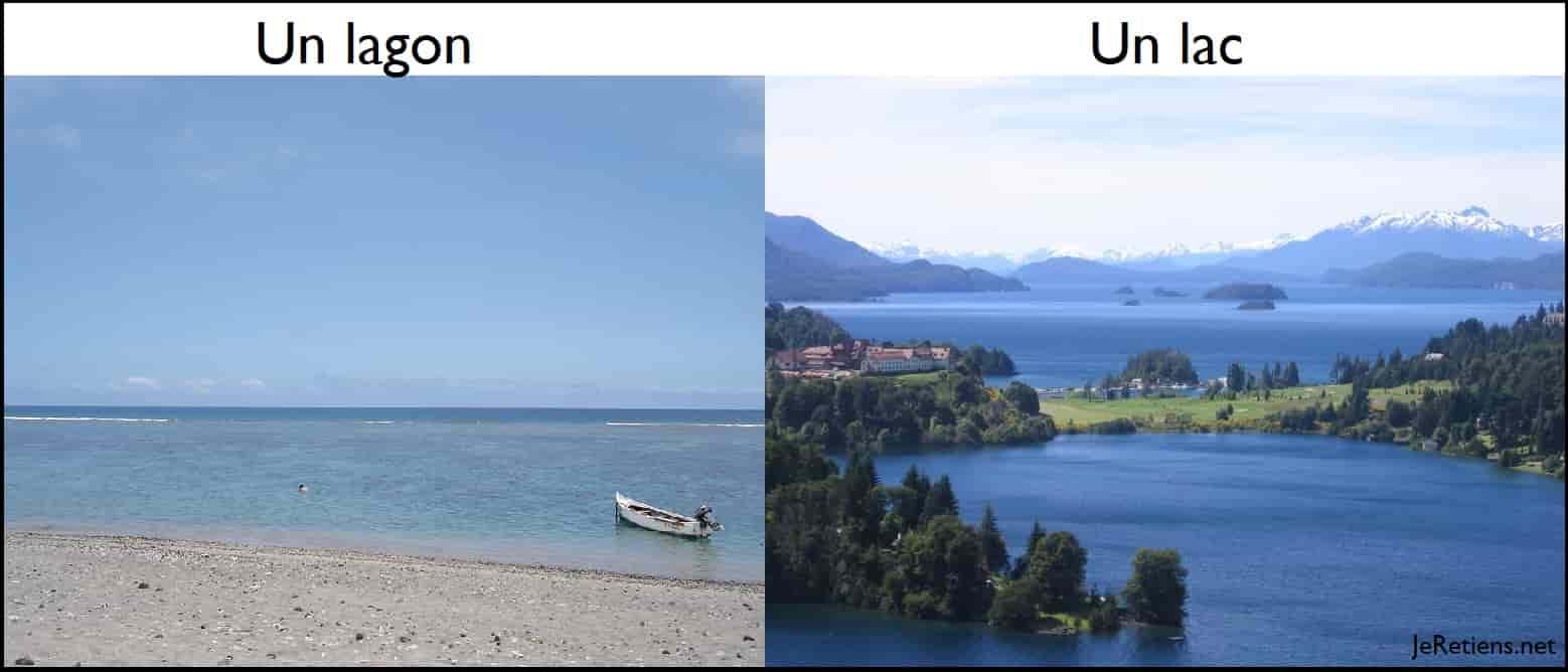 Quelle est la différence entre un lac et un lagon ?