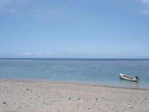 Le lagon de la côte ouest de la Réunion.